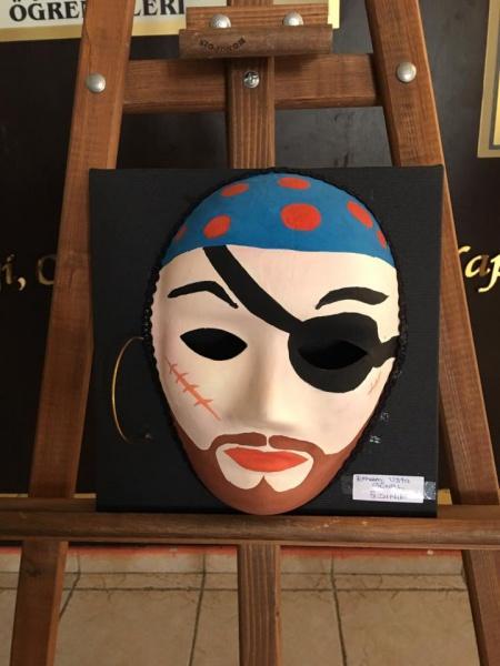Maskeler Konulu Sergimiz Ayse Ahmet Atmaca Ortaokulu